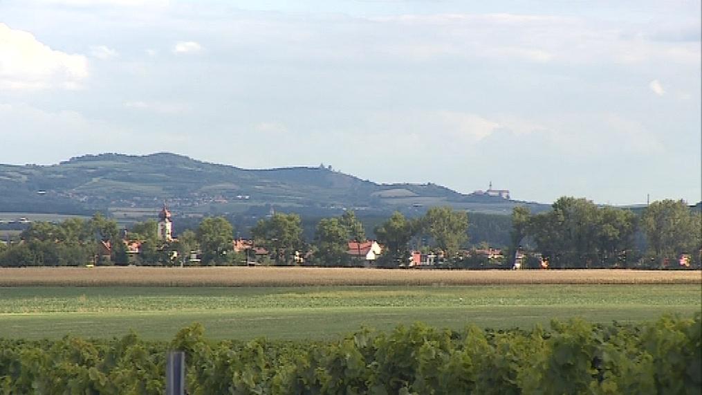 Pohled na obec Pasohlávky