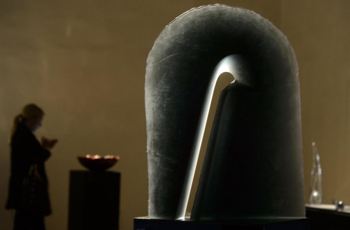 Z výstavy současného skla Stanislav Libenský Award 2013