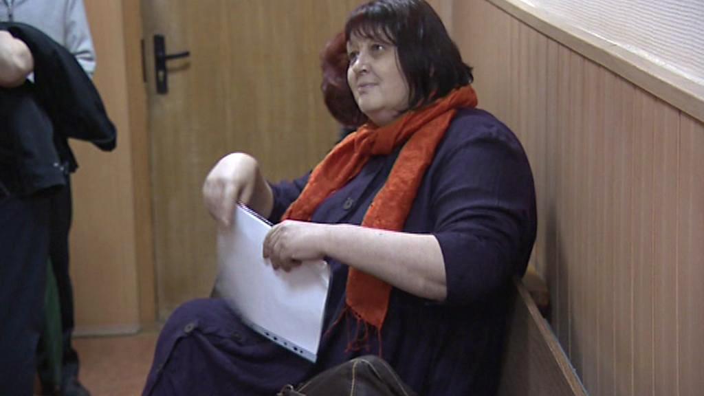 Naděžda Miťjuškinová u soudu