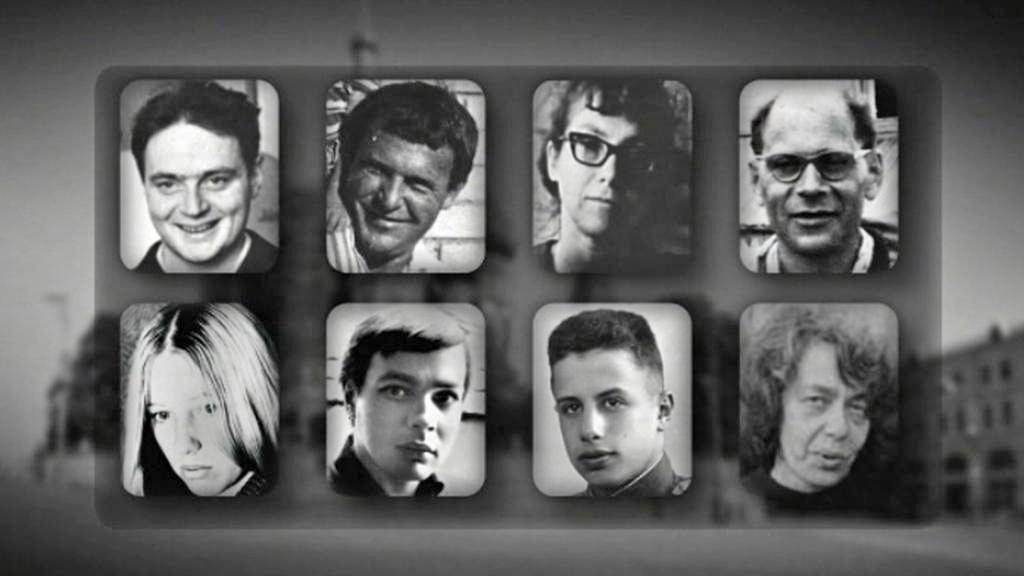 Osm statečných z Rudého náměstí z 25. srpna 1968