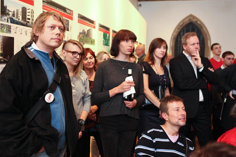Přehlídka projektů soutěže Young Architect Award v Galerii Jaroslava Fragnera