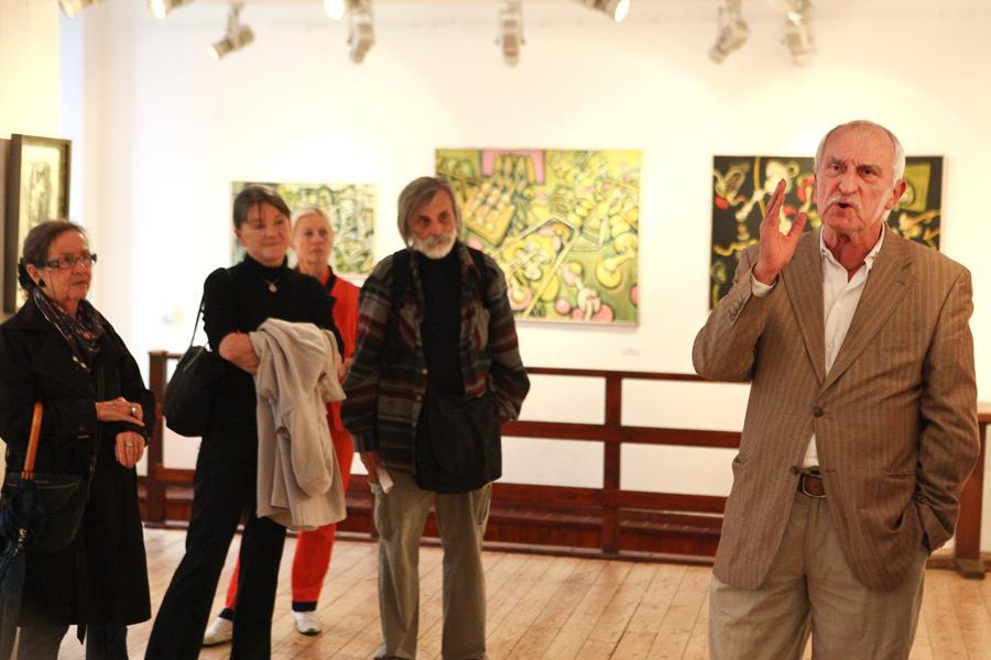 Výstava Jiřího Načeradského v Galerii U Betlémské kaple