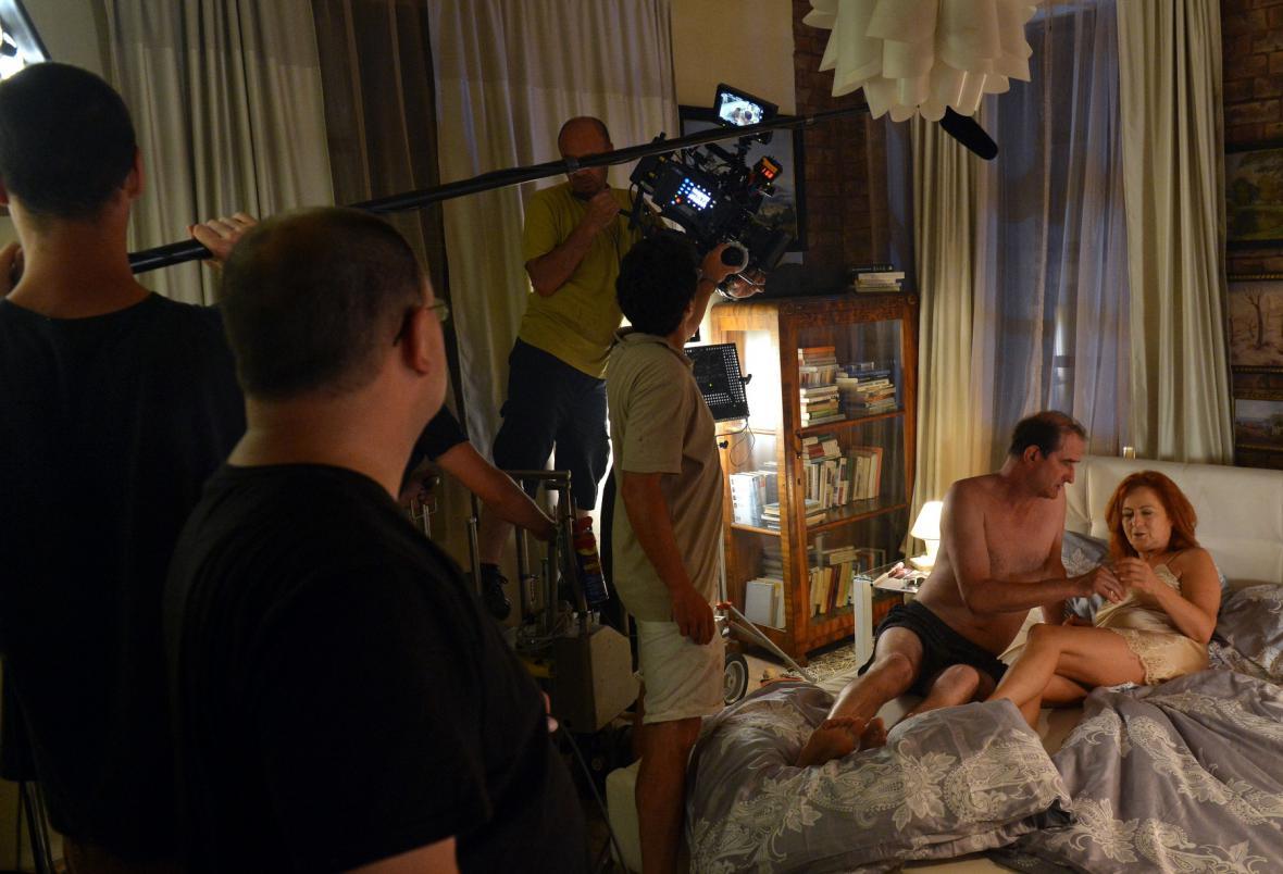 Natáčení intimních scén