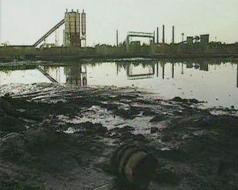 Ropná laguna v Ostravě