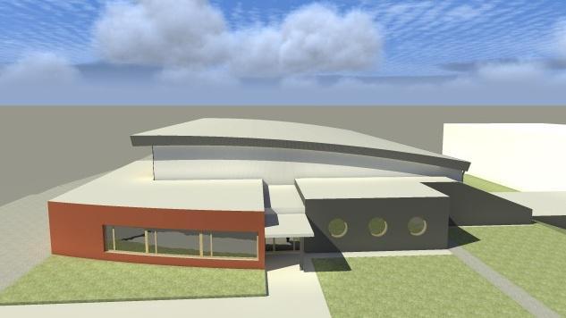 Sportovní hala by stála necelých 40 milionů korun
