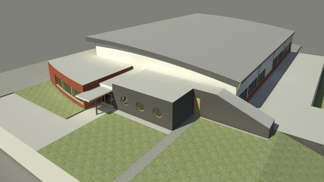 Sportovní hala by vyrostla do konce roku 2014