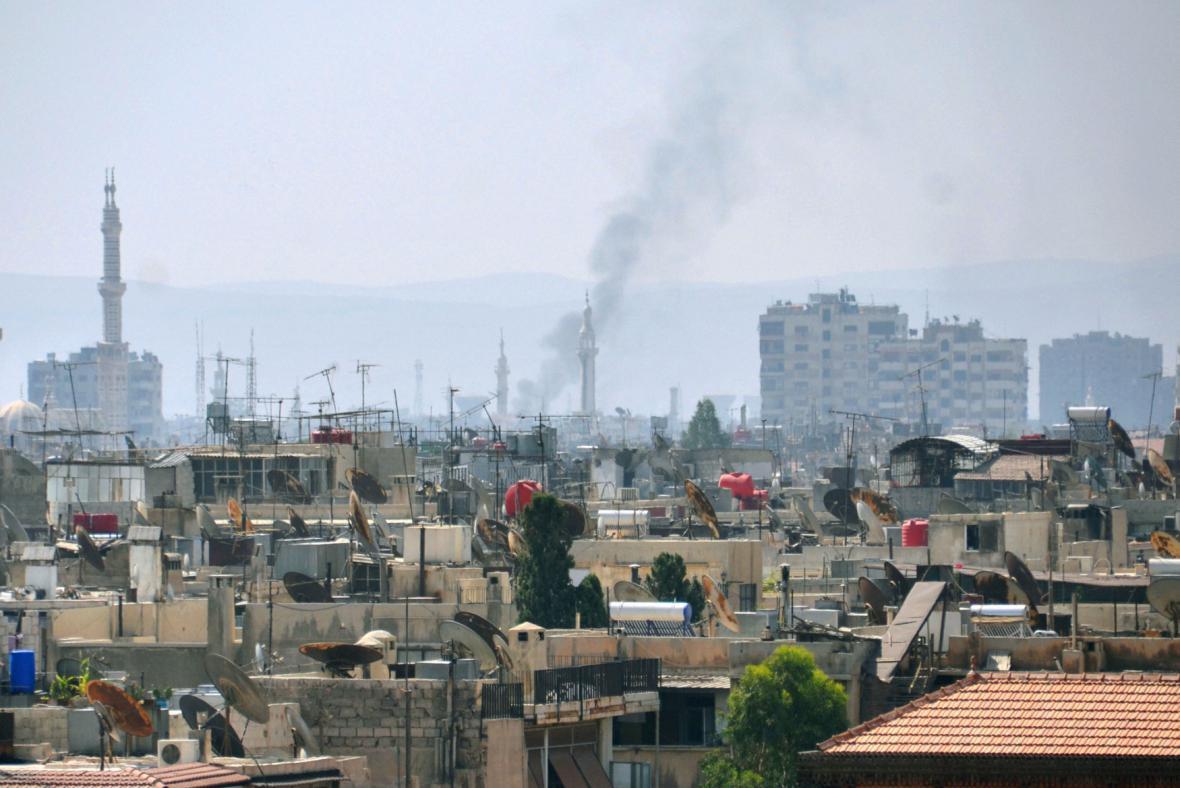 Boje v Damašku