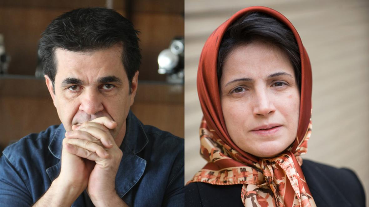 Džafar Panahí a Nasrín Sotudíová