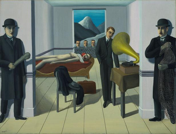 René Magritte / The Menaced Assassin, 1927