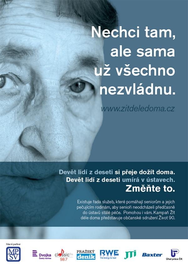 Nová kampaň sdružení Život 90