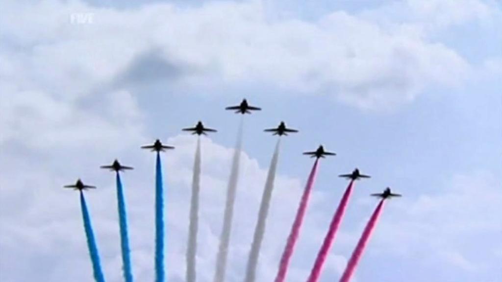 Letecká akrobatická skupina Red Arrows