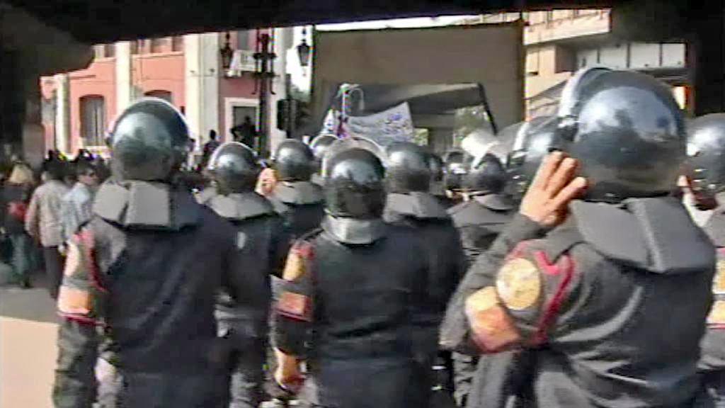 Egyptská policie