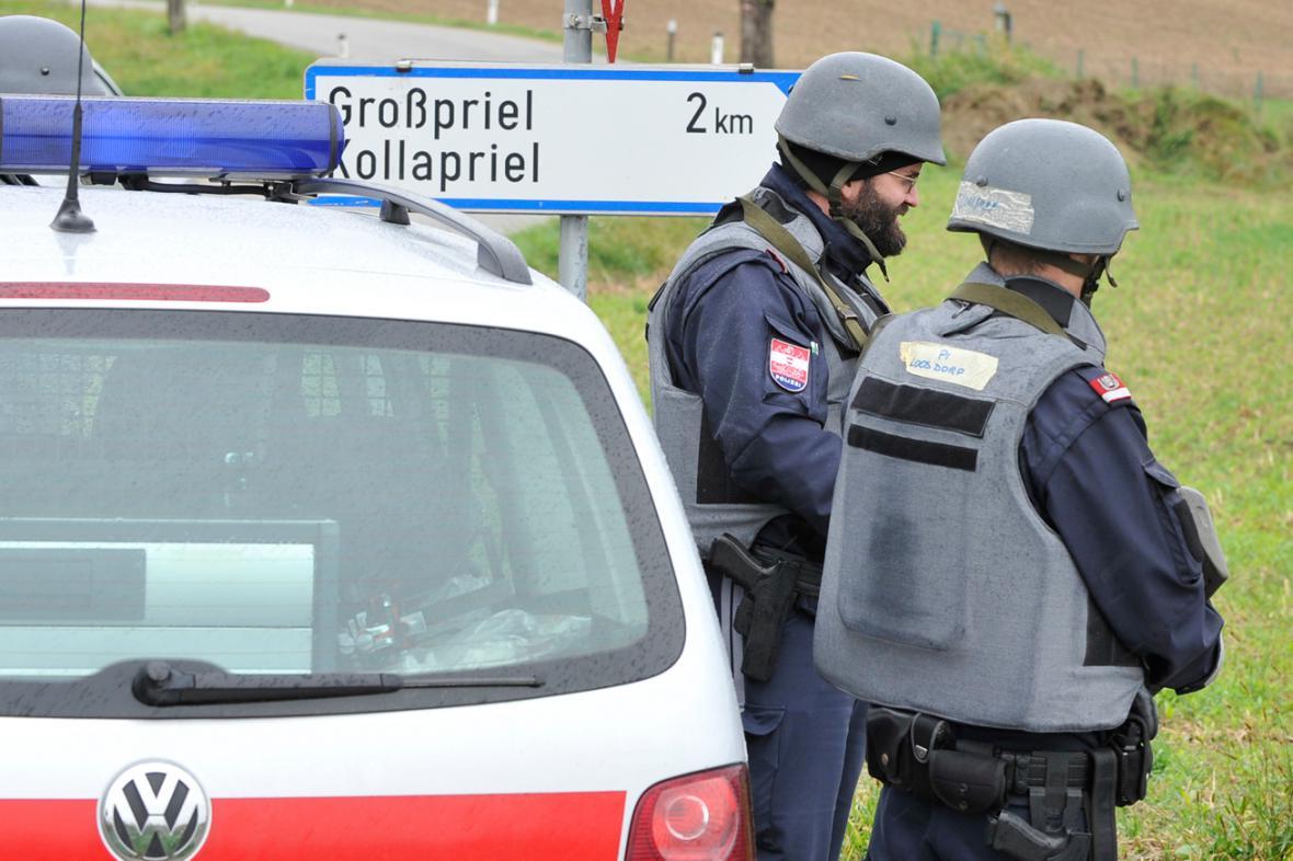 Rakouská policie zasahuje proti pytlákovi v Grossprielu
