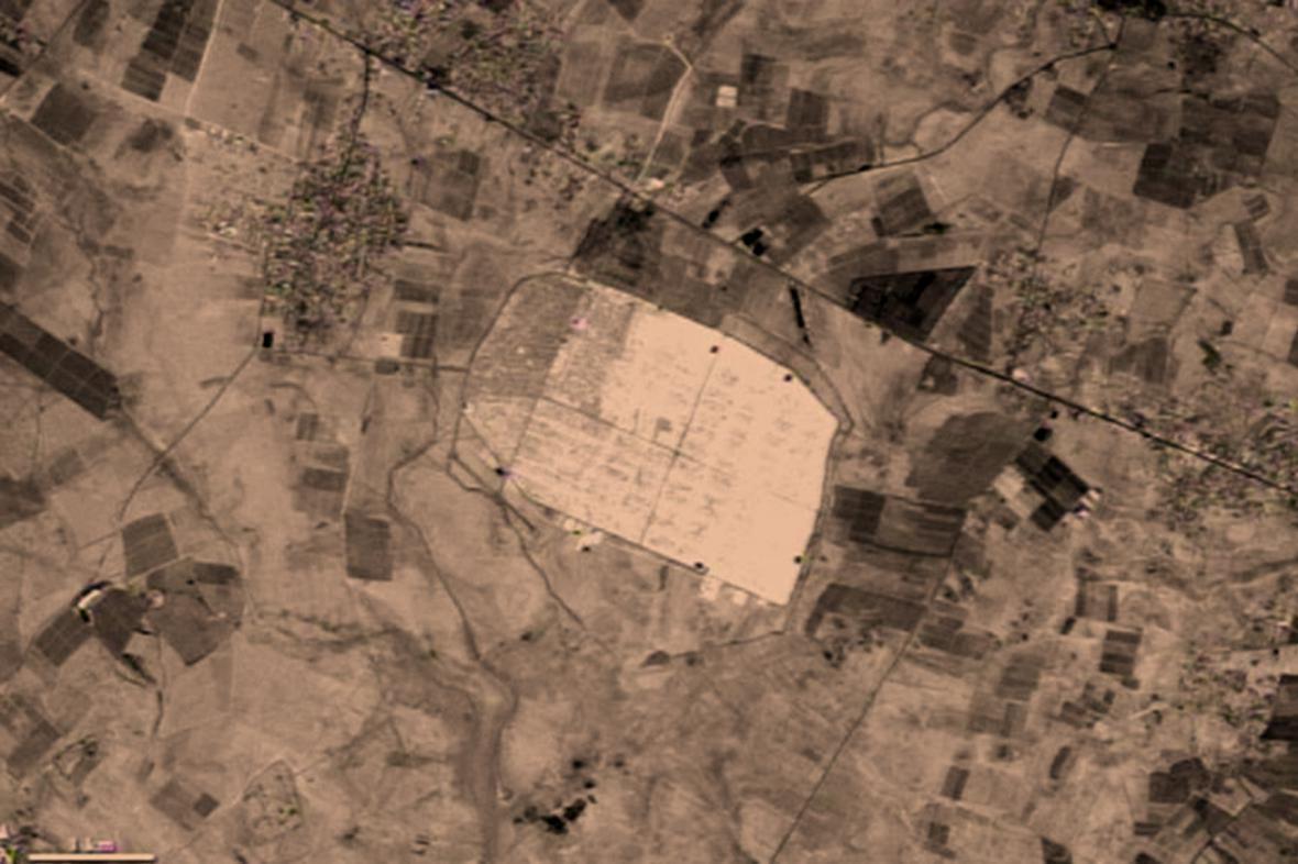 Jordánský uprchlický tábor Zátarí