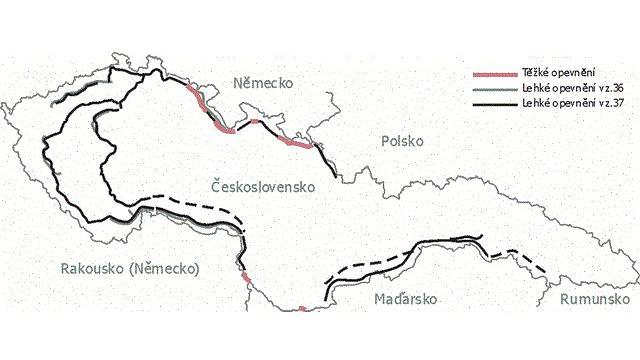 Opevnění Československa