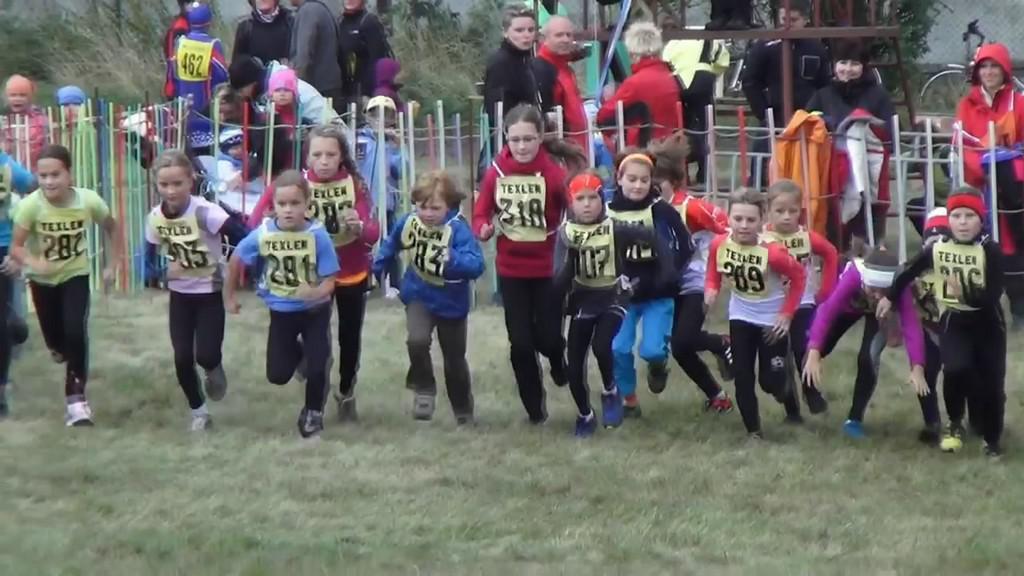 Malí běžci na startu