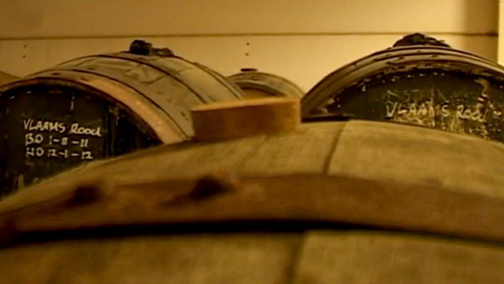 Pivo zraje v sudech, ve kterých dříve zrála whisky