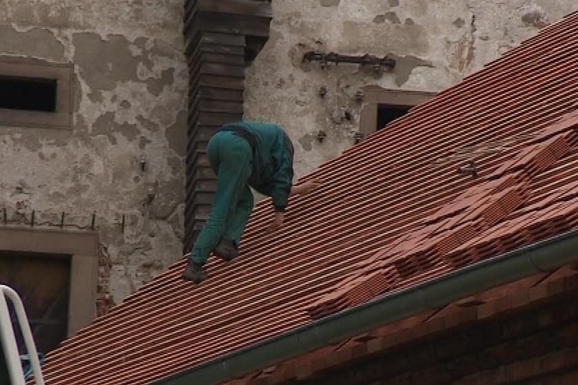 Rekonstrukce střechy trvala pět let