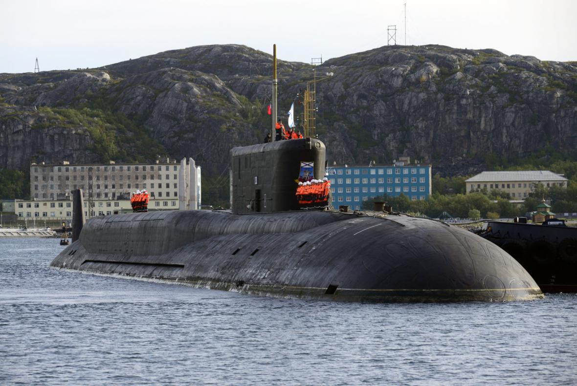 Jaderná ponorka - ilustrační foto