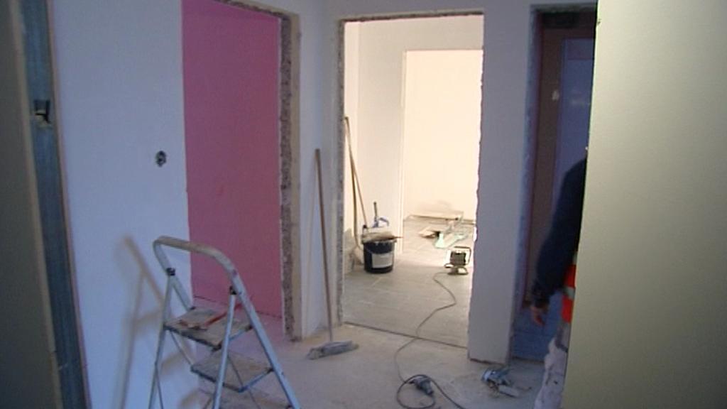 Rekonstrukce bytu pro handicapované