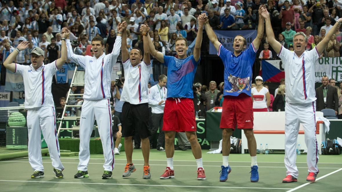 Radost českých tenistů
