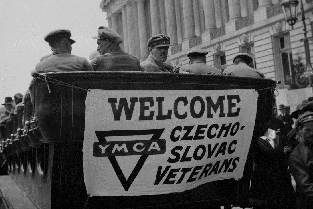 Fotografie legionáře Václava Balcara