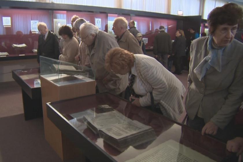 Památník Bible kralické byl dnes přístupný zdarma