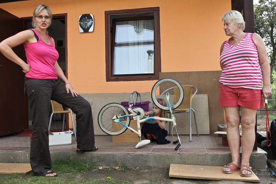 Zahrádkářky na Libeňském ostrově