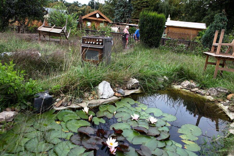 Zahrádkářská osada na Libeňském ostrově