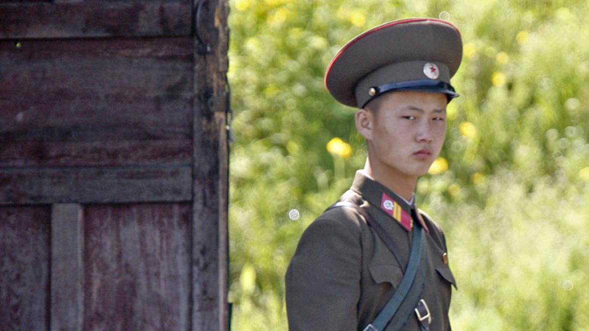 Severokorejský pohraničník