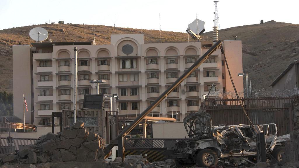Exploze u amerického konzulátu v Herátu