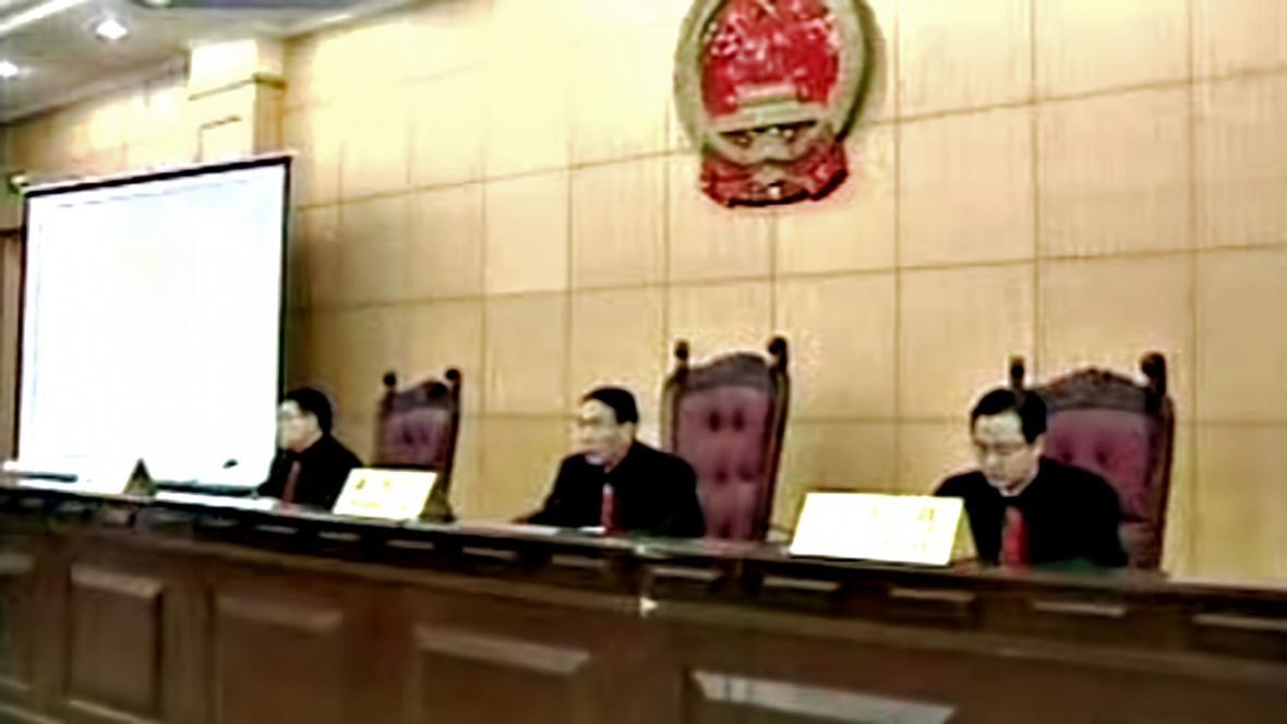 Čínský soud