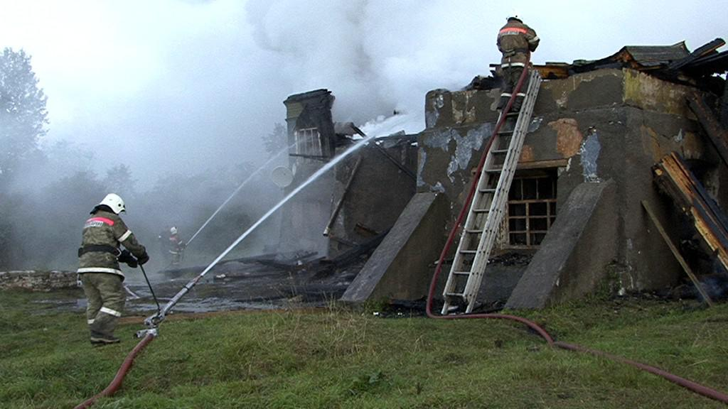 Požár v ruské léčebně