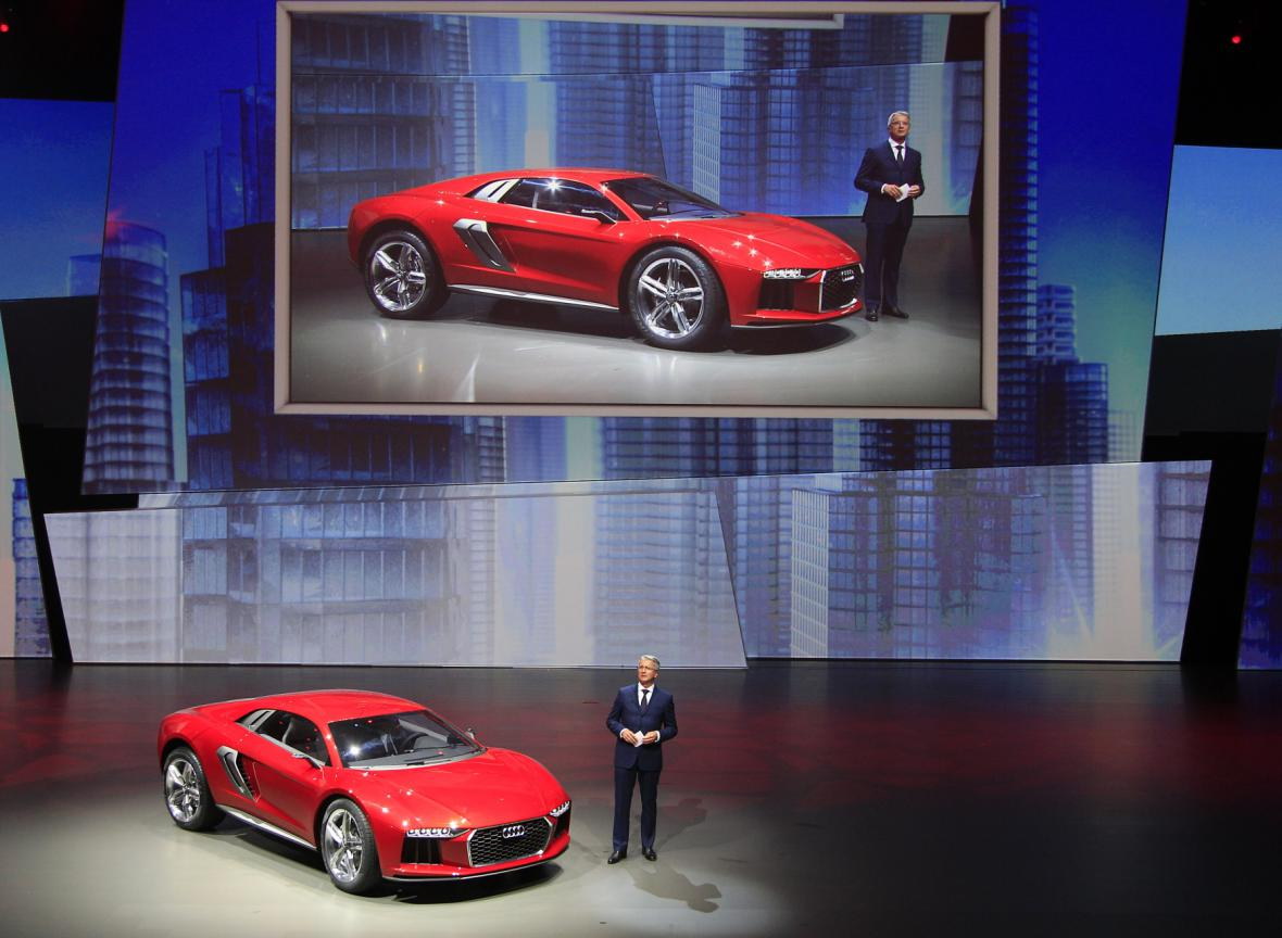 Audi Nanuk Quatro na autosalonu ve Frankfurtu (2013)