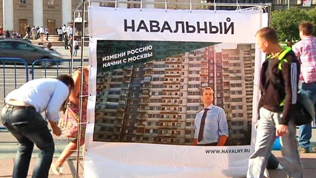 Volební kampaň Alexeje Navalného