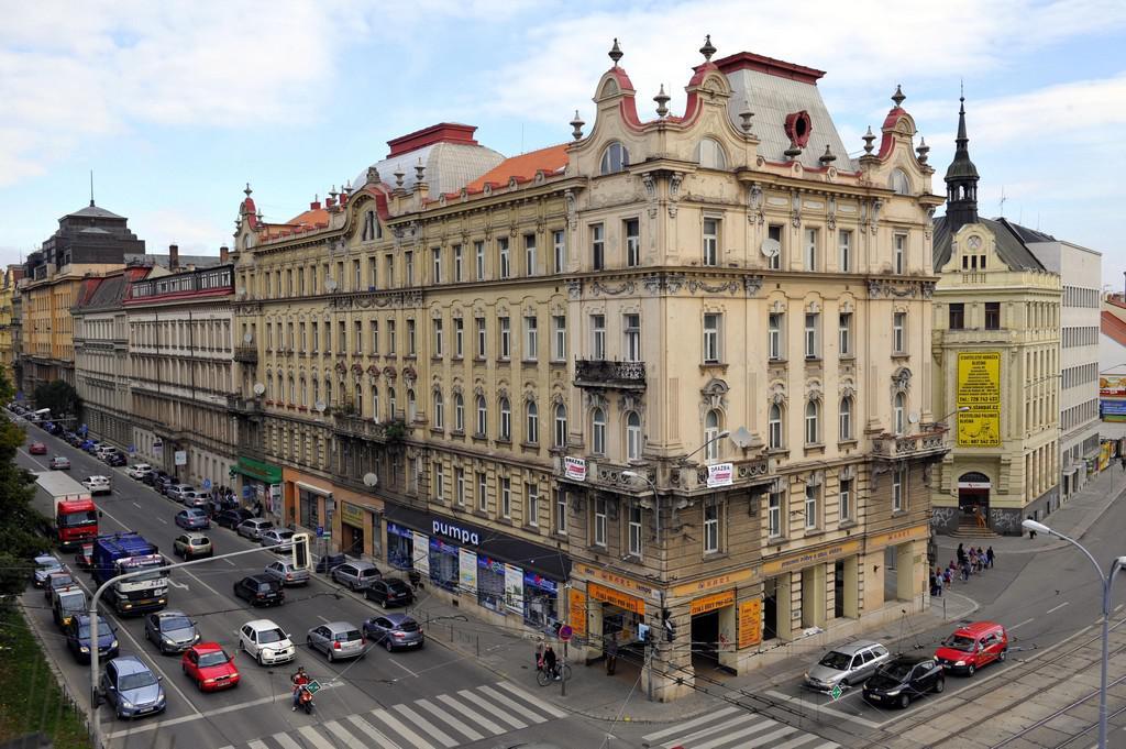 Památkově chráněný bytový dům v Brně na Kolišti 49