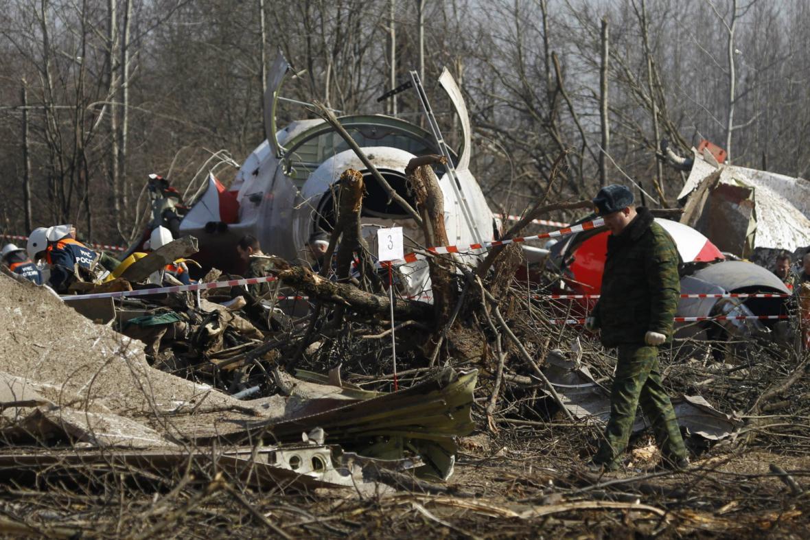 Nehoda polského prezidentského speciálu u Smolensku