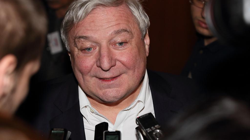 Miroslav Šlouf přišel podpořit Miloše Zemana do jeho volebního štábu