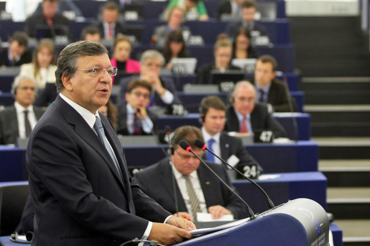 José Manuel Barroso přednesl čtvrtou zprávu o stavu unie
