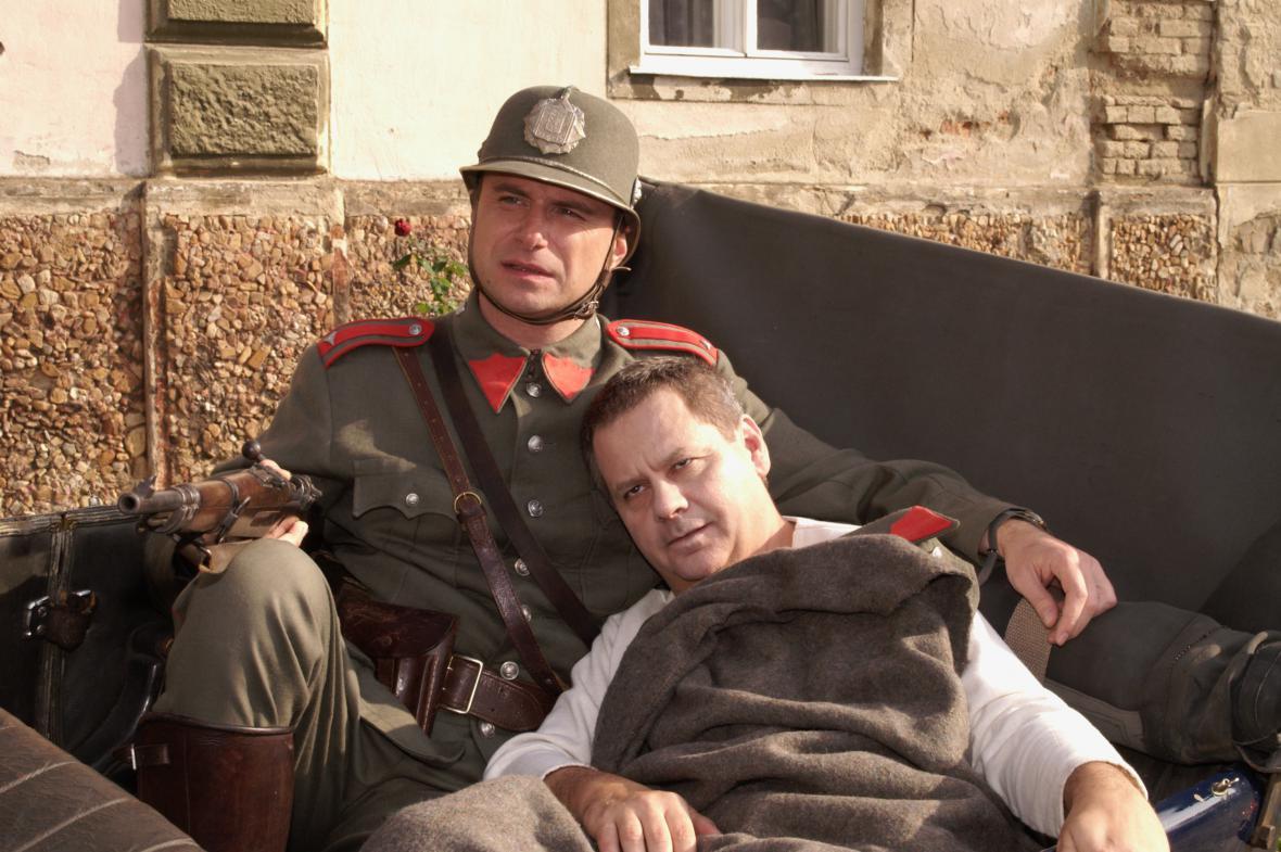 Martin Sláma s Antonínem Navrátilem
