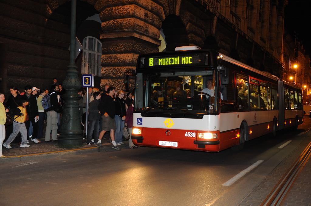Linka Pražské muzejní noci