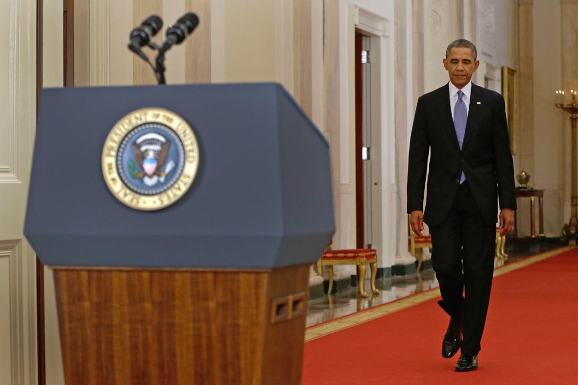 Barack Obama se chystá přednést projev k Sýrii