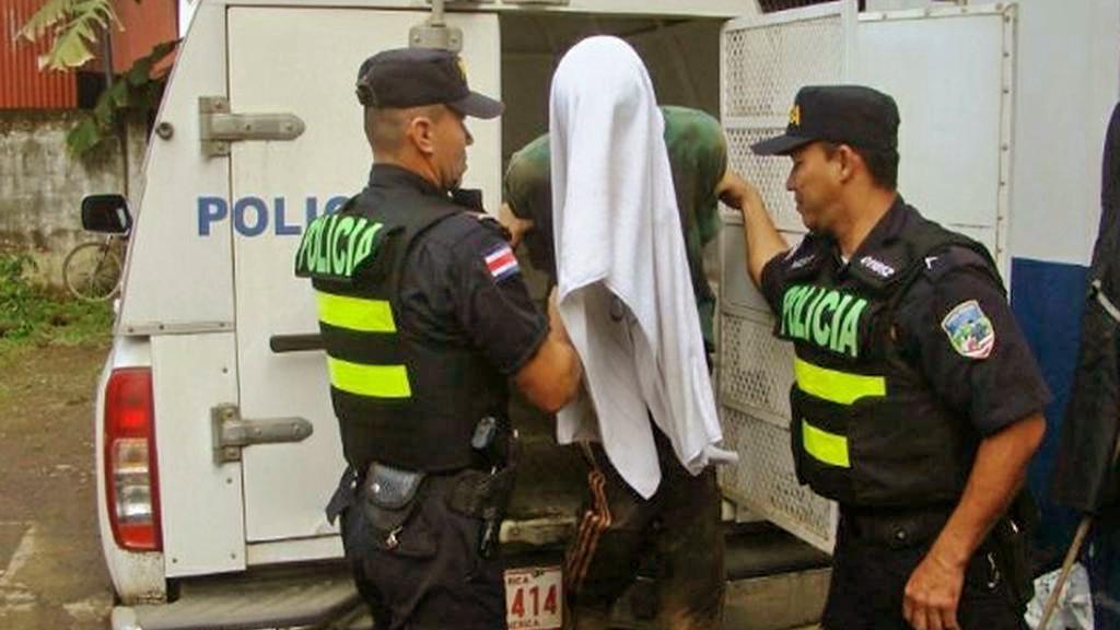 Kostarická policie s vrahem mladé Češky