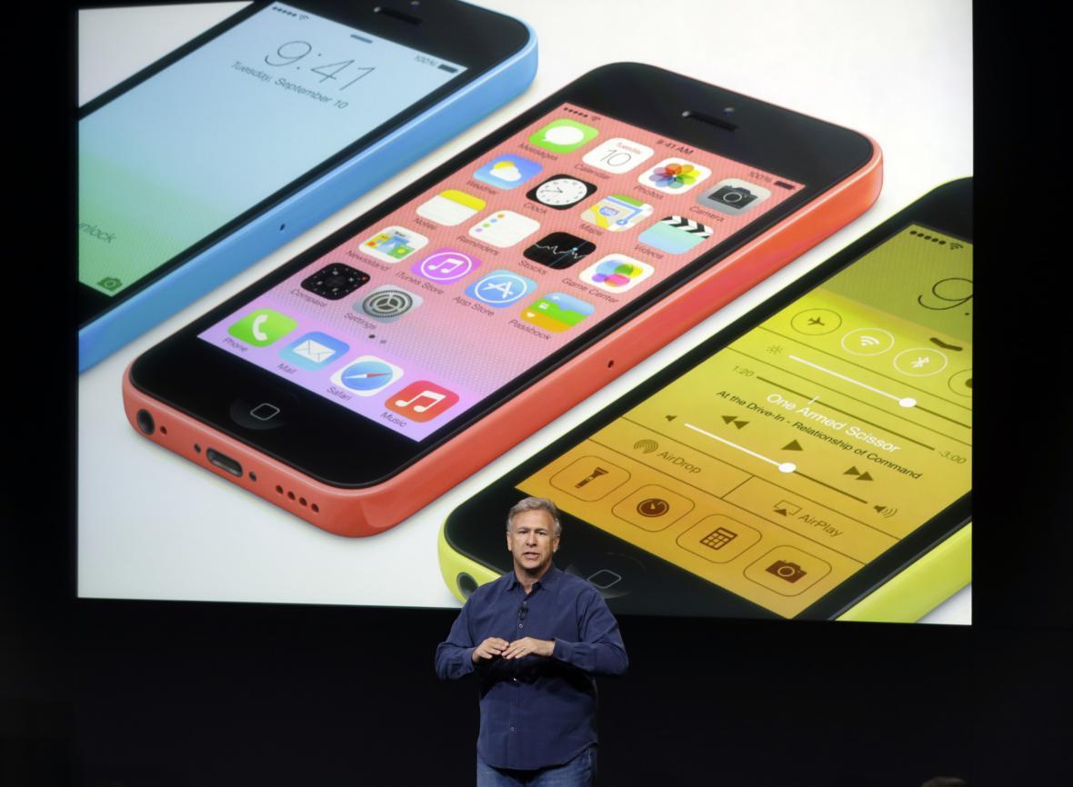Představení iPhone 5C