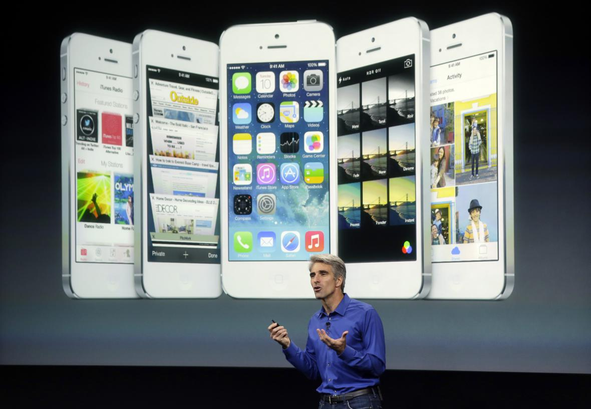 Představení iPhone 5S