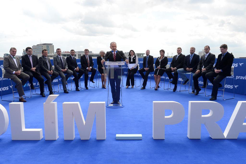 Zahájení předvolební kampaně ODS