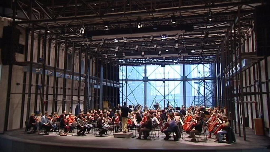 Filharmonici v Gongu