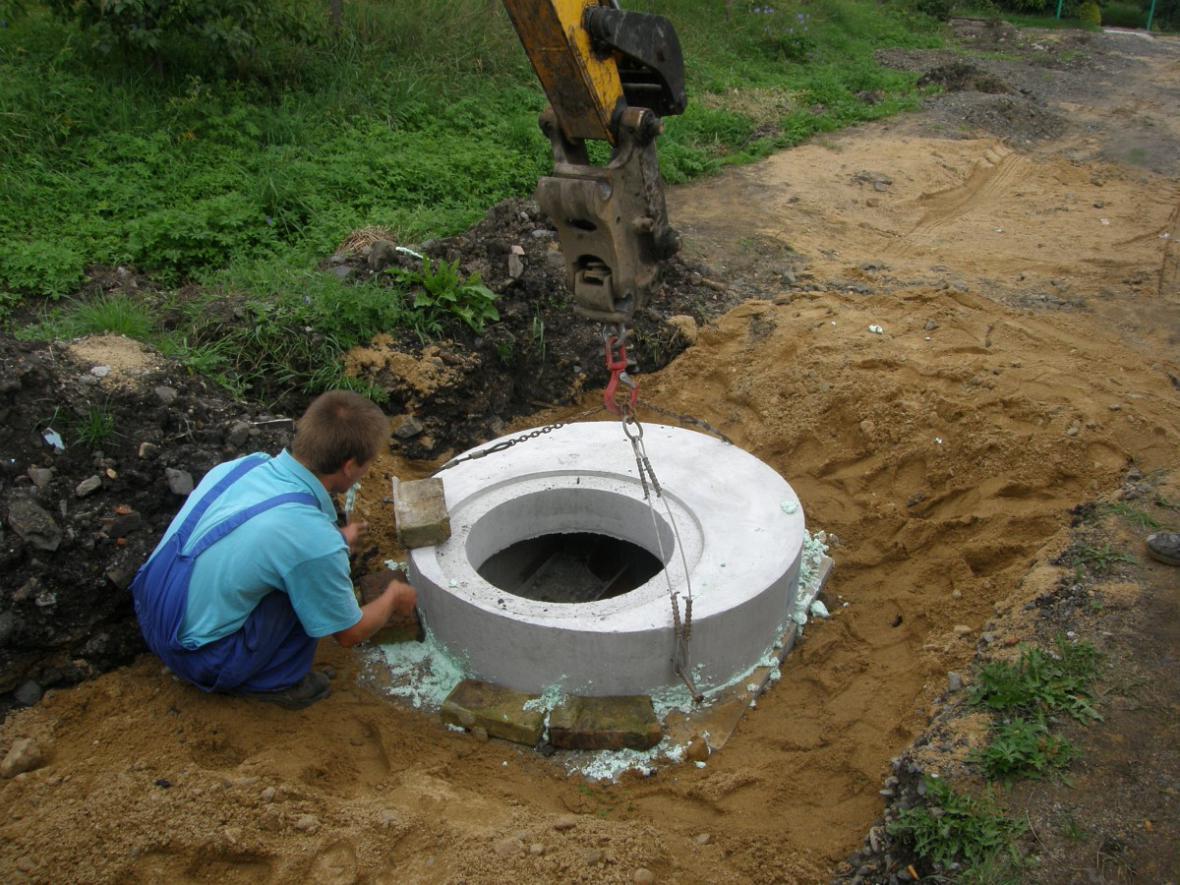 Kanalizace v Kololeči