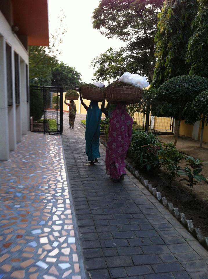 Snímek z Indie