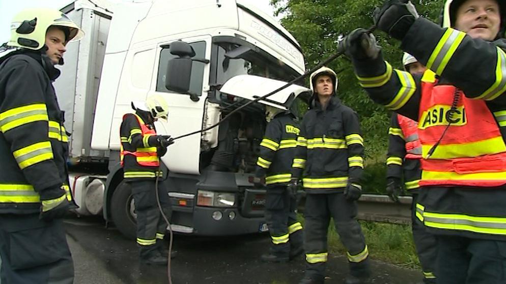 Práce hasičů